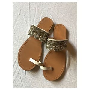 Bakers Rhinestone Sandals